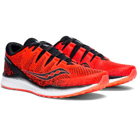 saucony Freedom ISO 2 Shoes Men ViziRed/Black